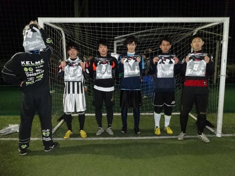 「Duelo CUP」ナイトマッチ エンジョイクラス