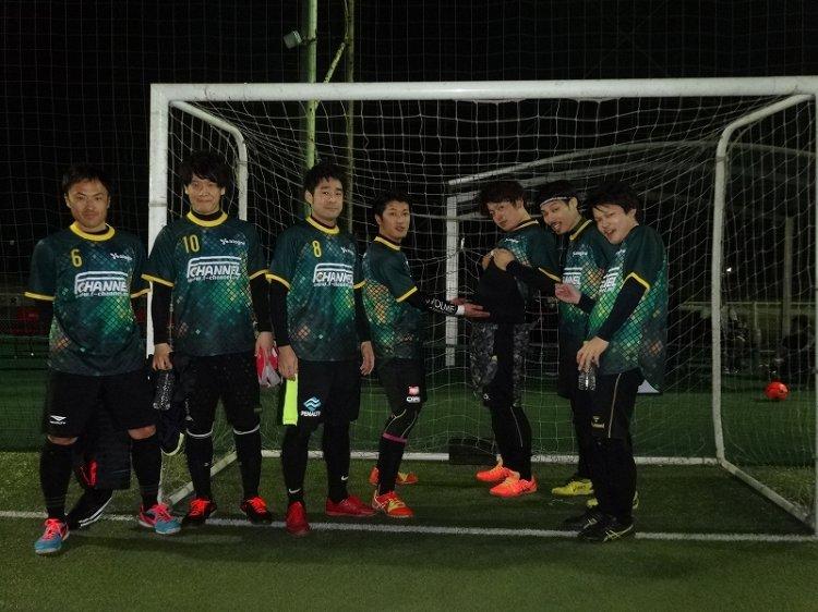 「FU5ION CUP」 ナイトマッチ エンジョイクラス