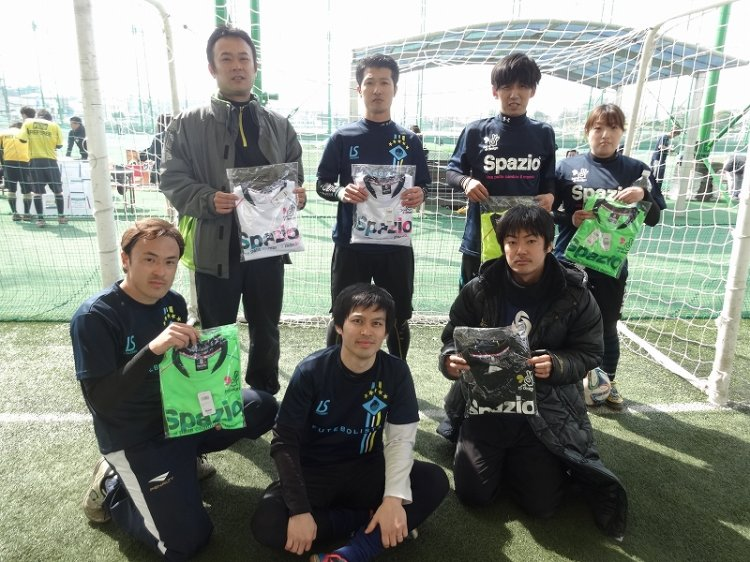 「spazio CUP」 ファースト1クラス大会