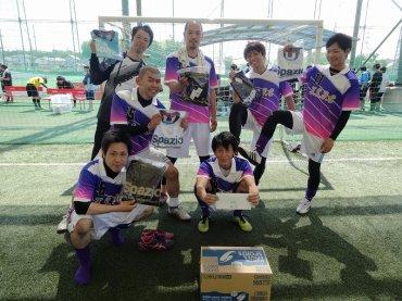 下位トーナメント優勝 T.S.FC