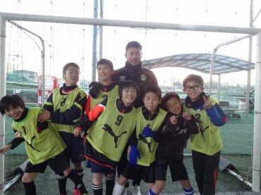 R`sジュニアサッカースクールB
