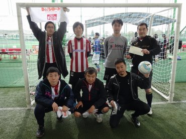 3RDリーグ優勝 チームY